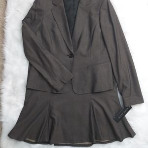 Anne Klein Skirt Suit NWT Size 10 Career Lined